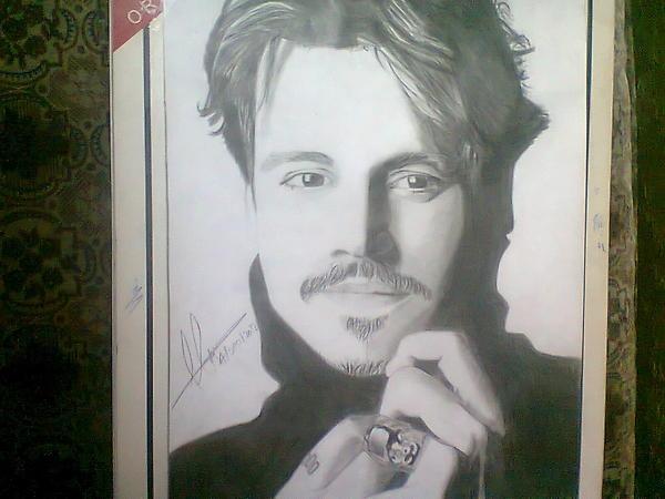 Johnny Depp by Haleema